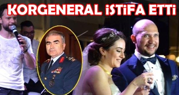 Korgeneral Mehmet Şanver istifa etti...