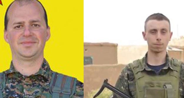Menbiç'te 1 İngiliz 1 Slovenyalı YPG'li çatışmalarda öldü