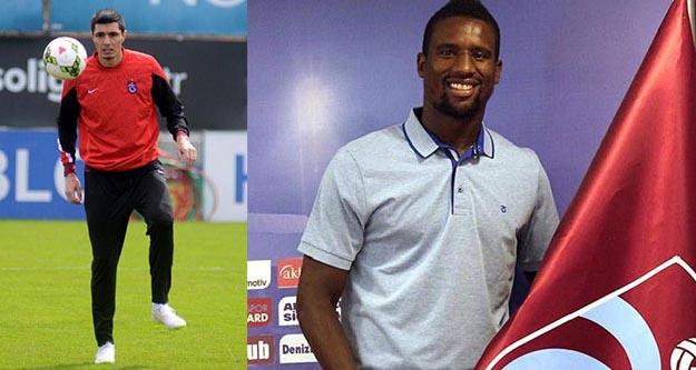 Trabzonspor iki futbolcuyla yolları ayırıyor