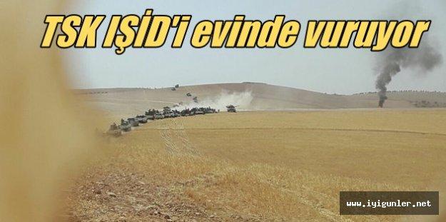TSK Cerablus'ta: İŞİD vurudu en çok PKK - PYD üzüldü