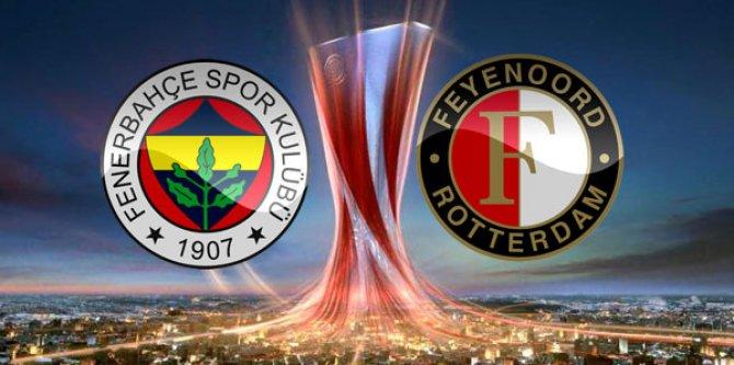 Fenerbahçe Feyenoord'u konuk edecek