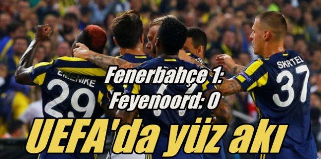 Fenerbahçe Feyenoord'u tek golle geçti, lider oldu