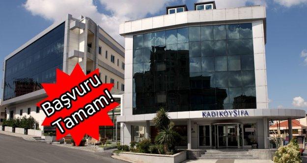Fiba Holding Kadıköy Şifa Hastanesi için RK'ya başvurdu
