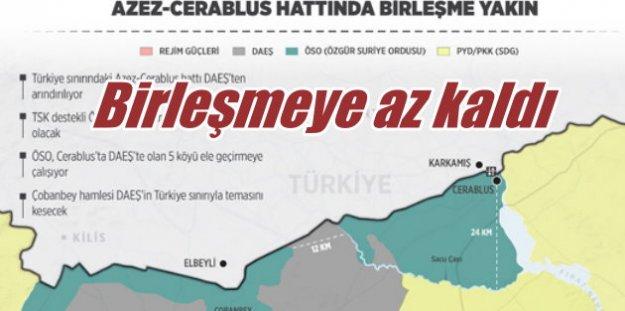 Sınır'da delik kapanıyor: TSK ve ÖSO birlikleri sınırda buluşuyor
