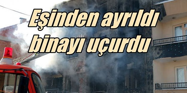 Zonguldak Ereğli'de korkunç patlama: Karısından ayrıldı....
