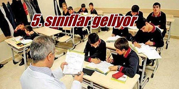 5.ci sınıflarda ders sistemi değişti: Yabancı  dil zorunlu oluyor