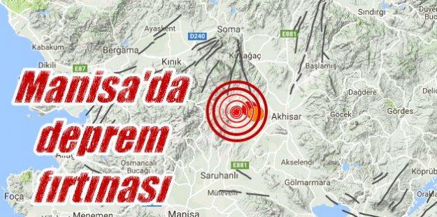 Akhisar'da deprem; Akhisar sabaha karşı 4.4 ile sallandı