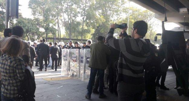 Ankara'da 10 Ekim gerginliği