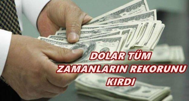 Dolar'da son durum, Dolar, TL 3.09' u aştı