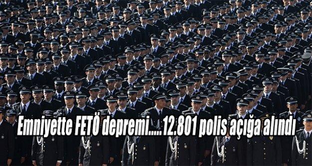 Emniyette FETÖ depremi.....12.801 polis açığa alındı