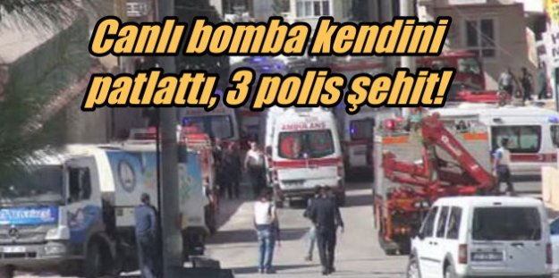 Gaziantep'te DEAŞ'ın katliam hücresine baskın, üç polis memuru şehit
