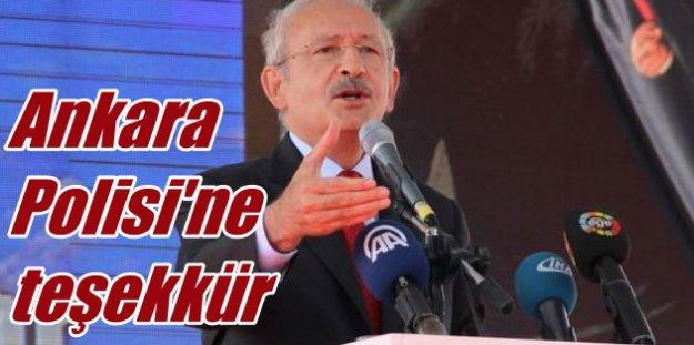 Kılıçdaroğlu, Ankara'da Canlı Bomba Operasyonu için teşekkür etti