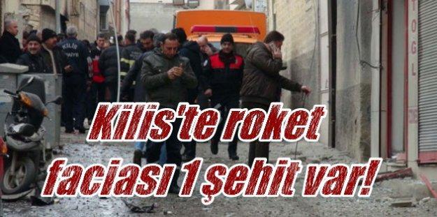 Kilis'te roket imhası can aldı; 1 polis şehit