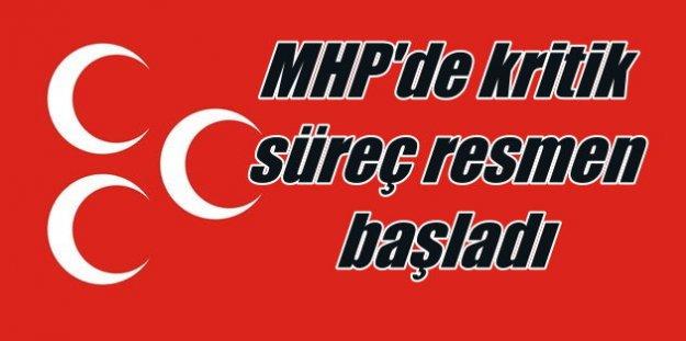 MHP'de kongre süreci resmen başladı: Haydi hayırlısı olsun