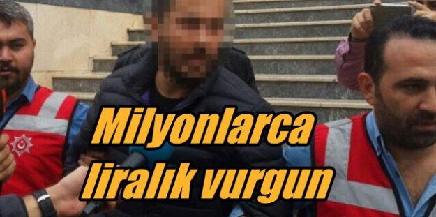 Milyonlarca liralık vurgun yaptı, Beşiktaş'ta yakalandı