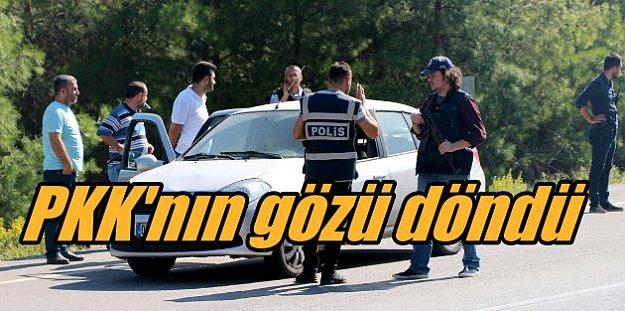 PKK'Lı teröristler Antalya'da roketle saldırdı, polis alarmda