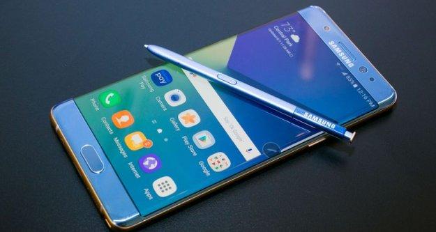 Samsung Galaxy Note 7'yi tarihe gömüyor