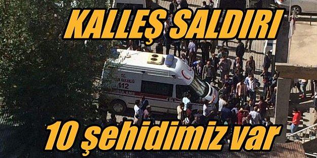Şemdinli'de kahpe saldırı; 10 asker şehit, 8 vatandaş can verdi