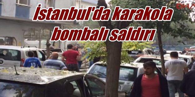 Yenibosna'da karakola bombalı saldırı, polis terörist peşinde
