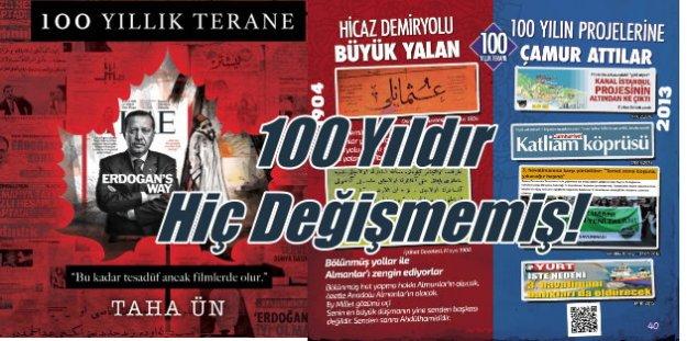 100 Yıllık Terane; Türkiye'nin bitmeyen filmi iftiralar, yalanlar ve komplolar