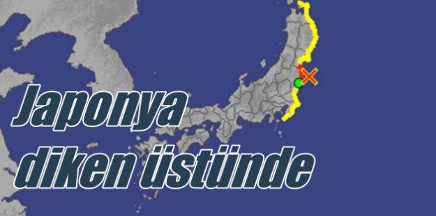Japonya'da tsunami alarmı, nükleer santraller kapatıldı