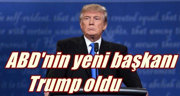 Trump zaferini ilan etti