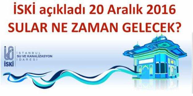 Beyoğlu ve Beşiktaş'ta su kesintisi, sular ne zaman gelecek