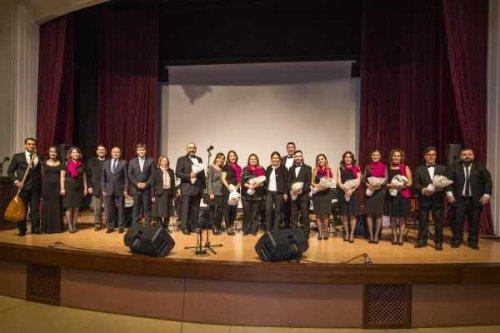 Gedik Üniversitesi korosundan müzik ziyafeti