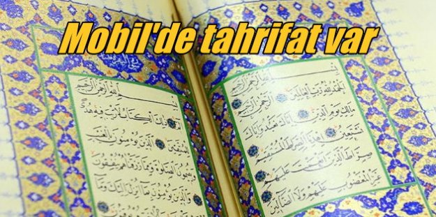 Mobil Kuran'ı Kerim'de tahrifat iddiası: Uzmanlar uyarıyor