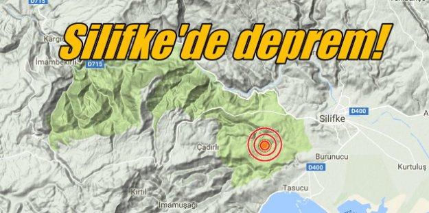 Silifke'de deprem, Mersin Silifke 3.7 ile sallandı