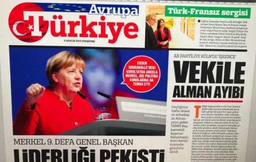 Türkiye Gazetesi Almanya baskısı yeniden başlıyor
