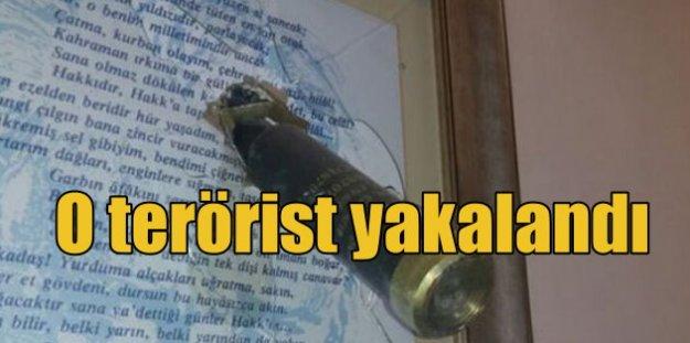 AK Parti ve Emniyet#039;e roketle saldıran terörist yakalandı
