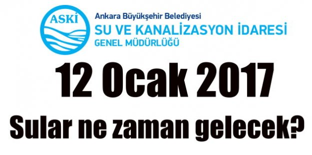 Ankara su kesintileri; Mamak'ta sular ne zaman gelecek
