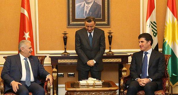 Başbakan Yıldırım Kuzey Irak'ta
