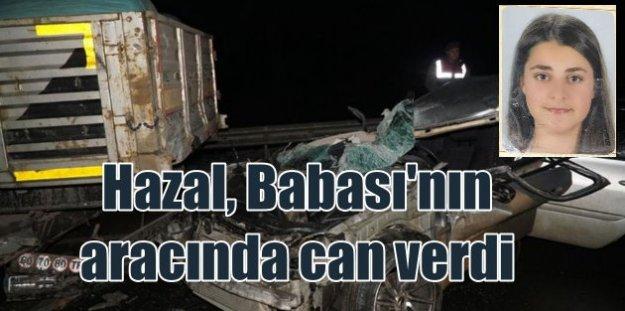 Edirne Keşan#039;da feci kaza; Kızı can verdi, baba ağır yaralı