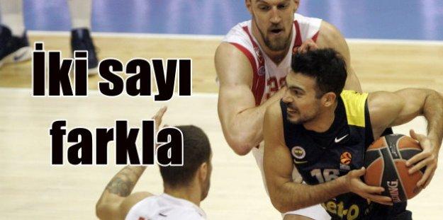 Fenerbahçe, Kızılyıldız'a 2 sayı farkla yenildi