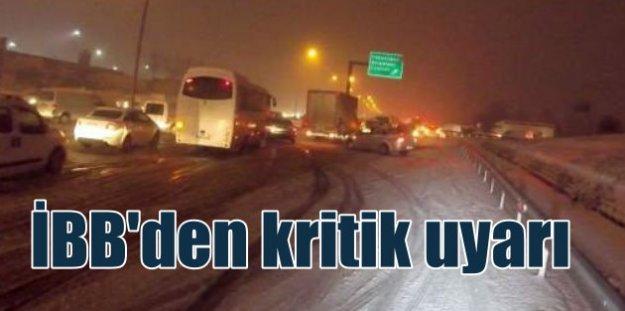 İBB Başkanı Kadir Topbaş; Trafikte kaos yaşadık