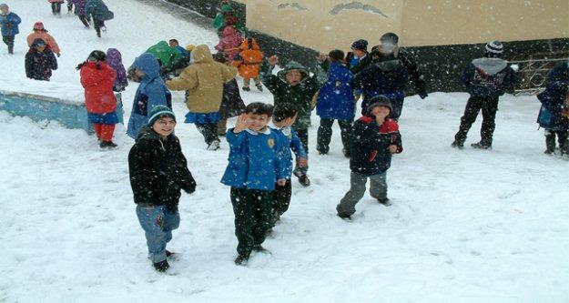 İlk kar tatili haberi geldi