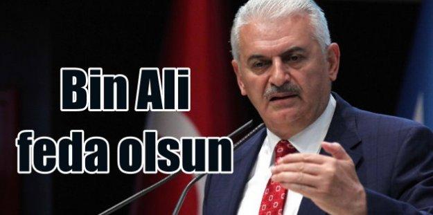 Memleketin geleceği için bir Ali değil bin Ali feda olsun