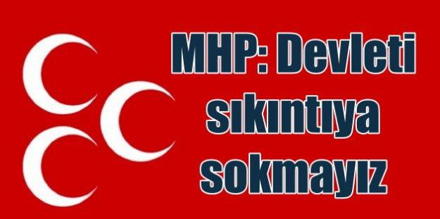 MHP Anayasa değişikliği için önemli açıklama: Risk aldık