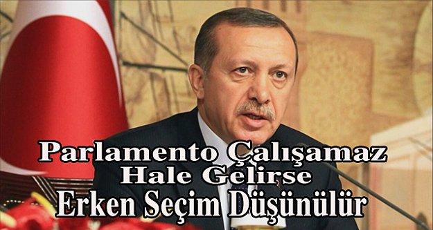 Erdoğan, Bahçeli gibi konuştu; Erken seçim