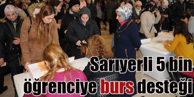 Sarıyer'de 5 bin öğrenciye belediyeden burs desteği
