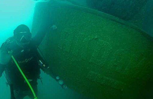 Van Gölü'nde batık Rus gemisi bulundu