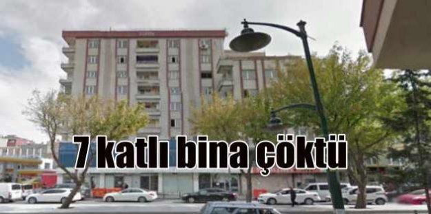 Zeytinburnu'nda bina çöktü: 2  ölü 17 yaralı var