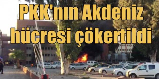 Adana'da kadın törerist bombayı böyle patlattı