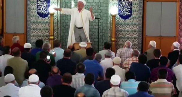 Evetçi imam hakkında soruşturma açıldı