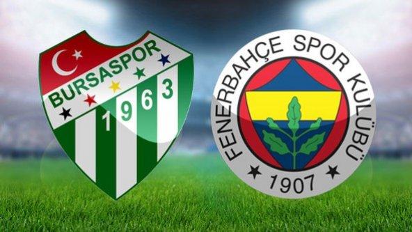 Fenerbahçe 1- Bursapor 1