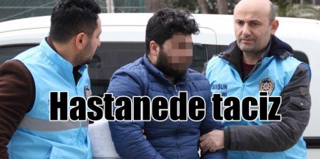 Hastanede refakatçi kızı taciz iddiası