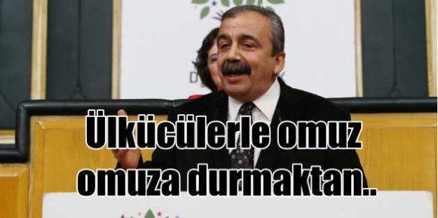 HDP: MHP'lilerle omuz omuza  durmaktan onur duyarız
