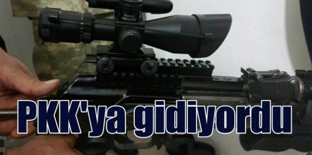 PKK'ya giden Kalaşinkof dürbünleri son anda yakalandı